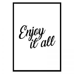 Enjoy It All poster