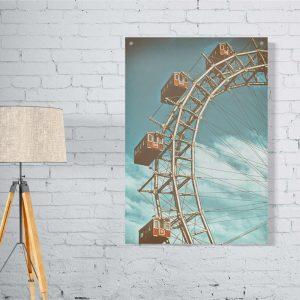 Ferris Wheel plexiglas poster