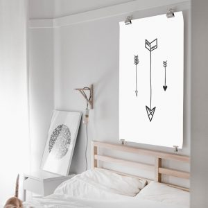 Graphic Arrows poster
