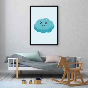 Happy Cloud kinderposter