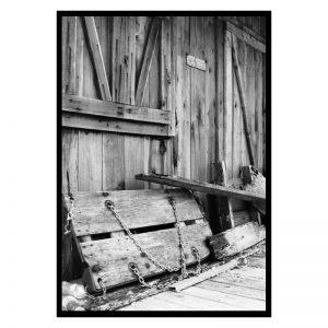 Mississippi Barn poster