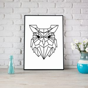 Owl Lines poster