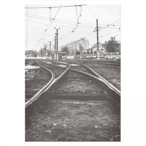 Rail Station plexiglas poster