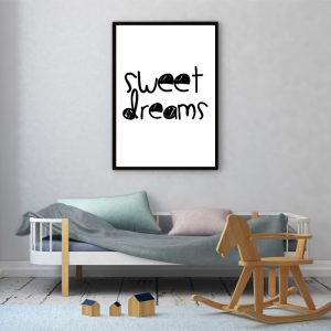 Sweet Dreams kinderposter