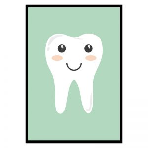 Teeth kinderposter