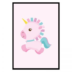 Unicorn kinderposter