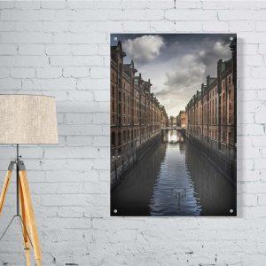 Venice plexiglas poster