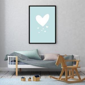 Blue Heart poster