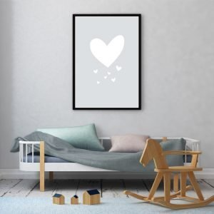 Grey Heart poster