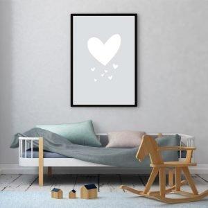 Grey Heart poster