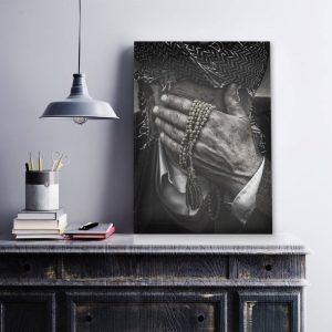 Shy Hand plexiglas poster