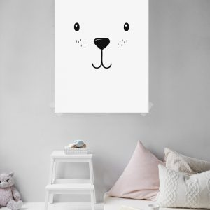 Bear kinderposter
