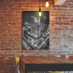 Big City plexiglas poster