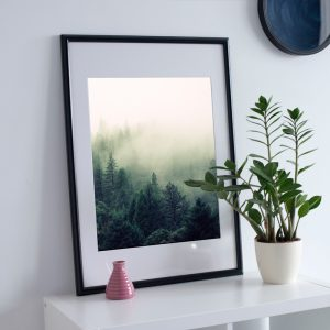 Trees in Nature poster