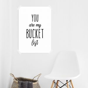 You Are My Bucket List poster
