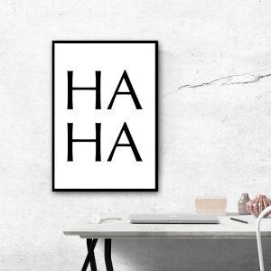 HAHA poster