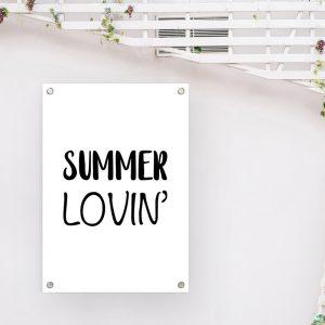 Summer Lovin' tuinposter