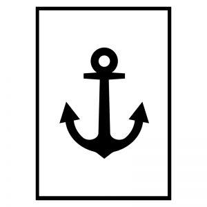 Anchor White poster