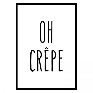 Oh Crepe poster