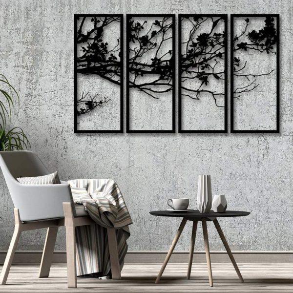 Nature Metalen Wanddecoratie Punt Posters Voor Ieder Interieur