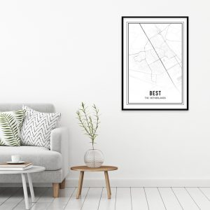 Best city maps poster