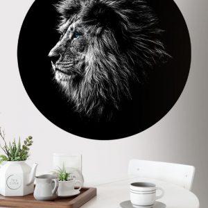 Behangcirkel - Leeuw