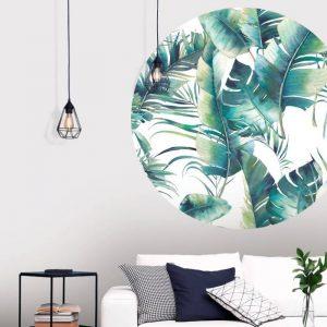 Behangcirkel - Palmbladeren