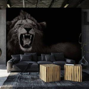 Behang - Lion