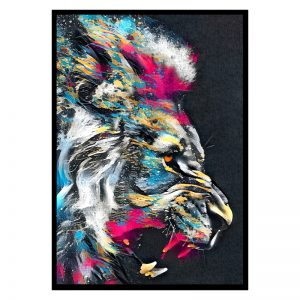 Painted Lion poster