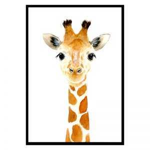 Baby Giraffe kinderposter