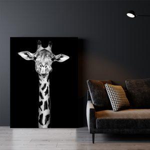 Dark Giraffe dieren poster