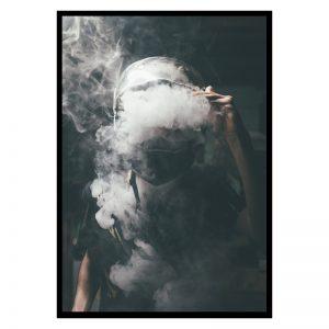 Smoke vintage poster