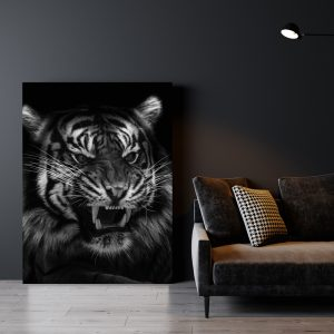 Angry Black Tiger poster