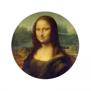 Behangcirkel - Mona Lisa