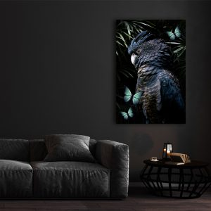 Cockatoo botanische dieren poster