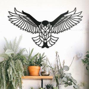 Metalen wanddecoratie - Eagle