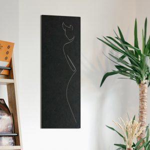 Metalen wanddecoratie - Women