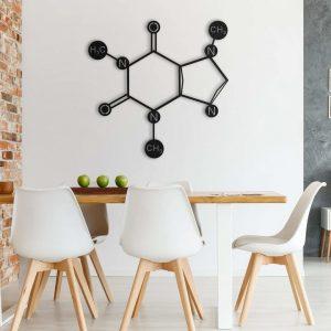Metalen wanddecoratie - Caffeine