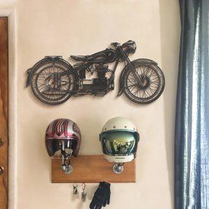 Metalen wanddecoratie - Motor
