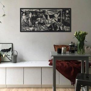 Metalen wanddecoratie - Picasso