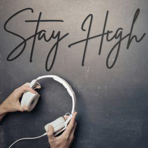 Metalen wanddecoratie - Stay High