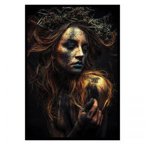 Dirty Women zwart goud poster