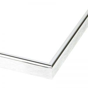 Posterlijst Aluminium - Hoogglans Zilver - 10mm