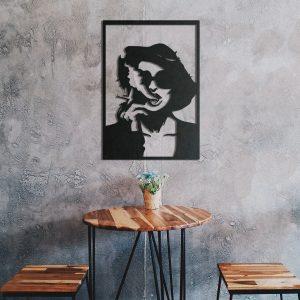 Metalen wanddecoratie - Marla Singer