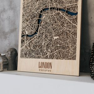 3D Houten City Map - London
