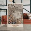 3D Houten City Map - Philadelphia