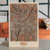 3D Houten City Map - Munich