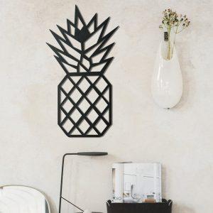 Metalen wanddecoratie - Pineapple