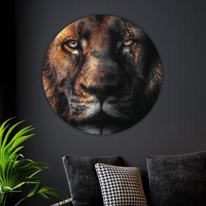 Behangcirkel - Scar Lion