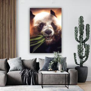 Hungry Panda poster botanisch jungle dieren